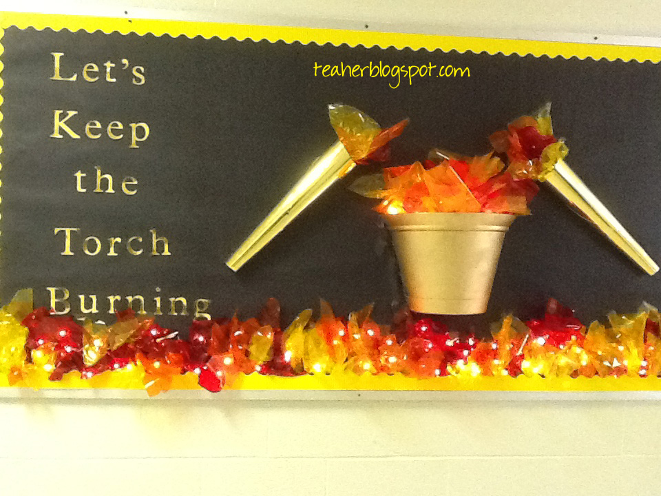 Bulletin Board On Fire Teacher Blog Spot