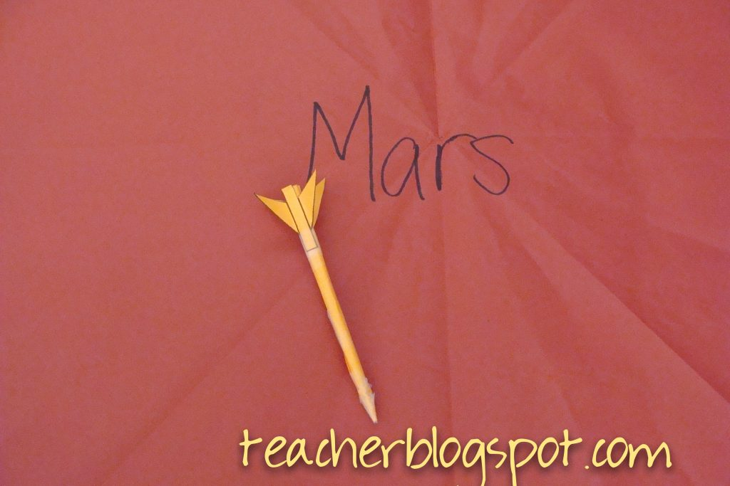 Mars Stem Rocket Lesson