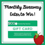 Monthly Teachers pay Teachers Giveaway